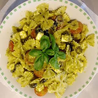 Farfalle and Pesto Salad.
