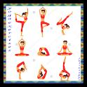 yoga exercises icon