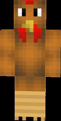 It a brown chicken