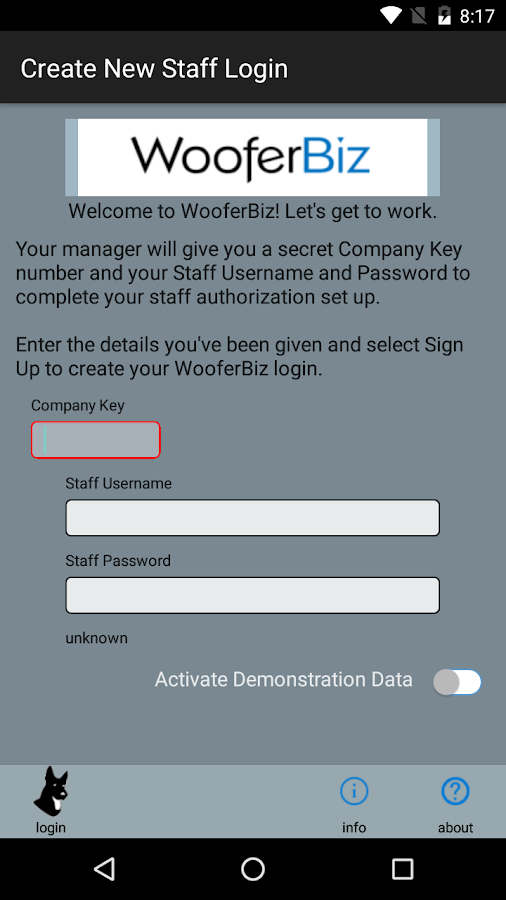 WooferBiz- screenshot