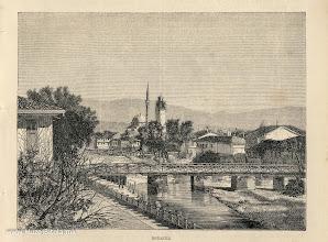 Photo: 3. E.Therond, Monastir 1875 година. Литографија од Битола изработена од фотографија.