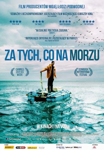 Polski plakat filmu 'Za Tych, Co Na Morzu'