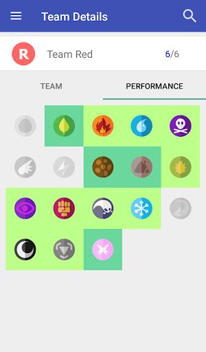 Pokemon team builder app android