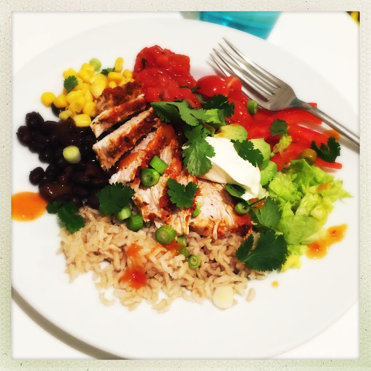Chicken Burrito Bowl Recipe | Yummly