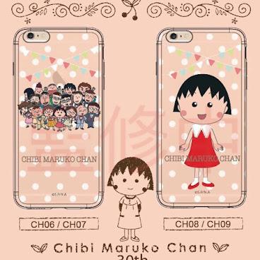 (請註明型號及款式)小丸子30週年iPhone Case (火熱預訂中 6月上市)