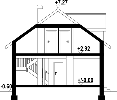Osiek 33 dws - Przekrój