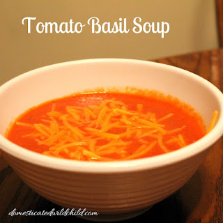 Tomato Basil Cheddar Soup Recipes