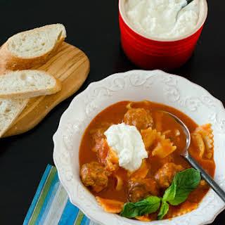 Pasta Soup.