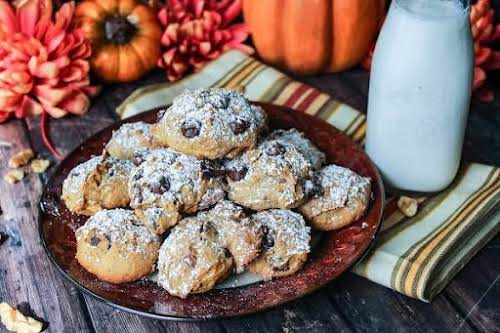 """Pumpkin Chocolate Chip Cookies """"These are the perfect cookies for the fall..."""