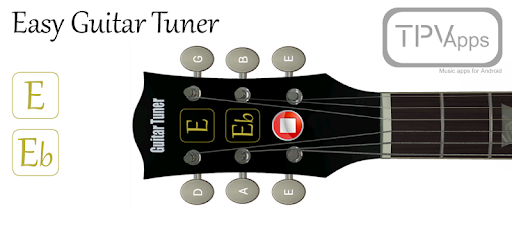 easy guitar tuner apps on google play. Black Bedroom Furniture Sets. Home Design Ideas