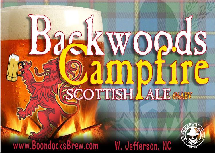 Logo of Boondocks Backwoods Campfire Scottish Ale