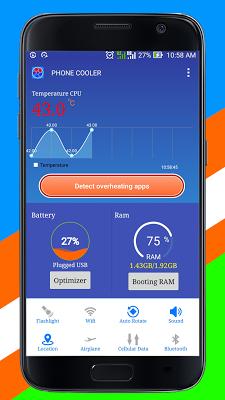 Phone Cooler Master - screenshot