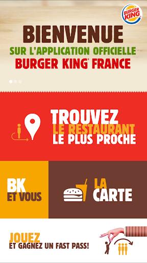 Burger King France screenshot 1