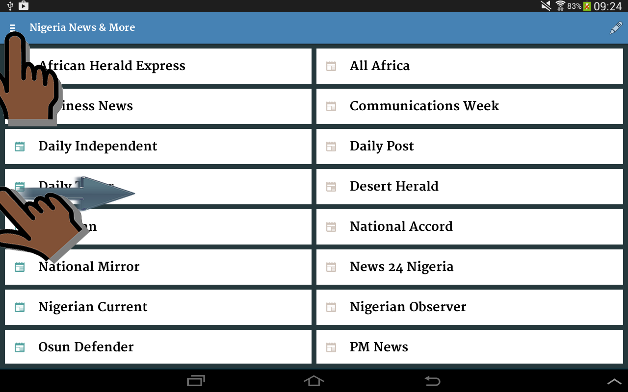 Nigeria News & More- screenshot