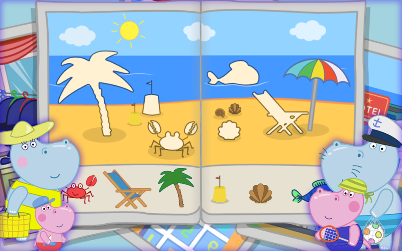 Hippo Beach Adventures- screenshot