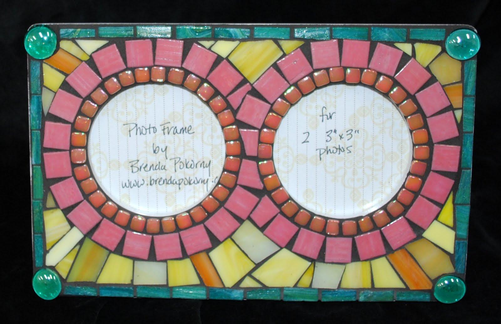 Mosaic Photo Frames & Mirrors