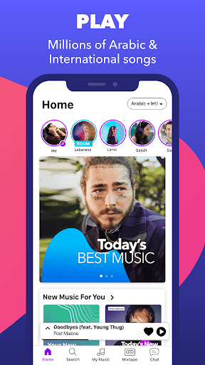 Anghami - Play, discover & download new music screenshot 1