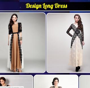 Design Long Dress - náhled