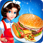 Street Food Pizza Maker & Burger Jeu de cuisine icon