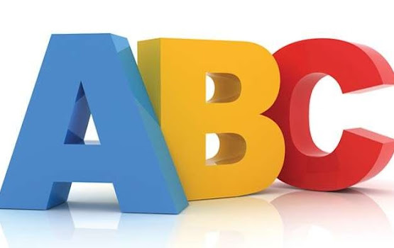 ABC costing written in letters ABC