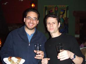 Photo: Erick and David