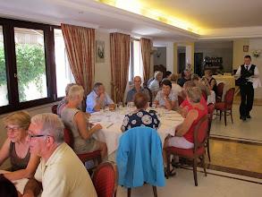 Photo: It.s4HR37-141009San Giovani Rotondo, restaurant Le Terrazze, petites tables  IMG_5826