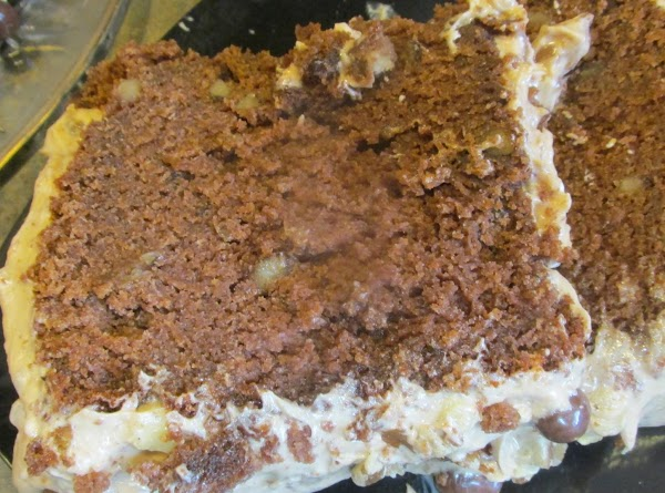 Frost cake as desired. Garnish if desired. Refrigerate any left overs, and save for...