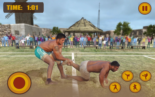 Kabaddi Fighting 2018 : Wrestling League Knockout  screenshots 1
