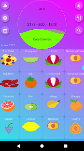 Calorie Counter - EasyFit pro - náhled