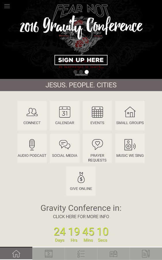 New Vintage Church Tri Cities- screenshot