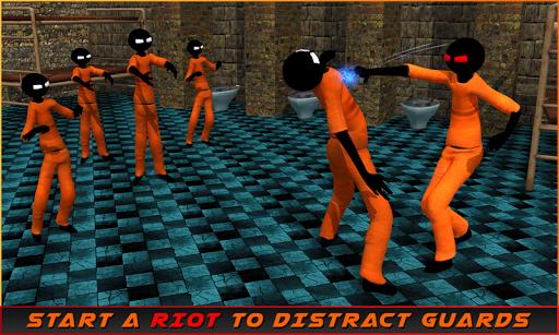Stickman Prison Escape Story screenshots 1