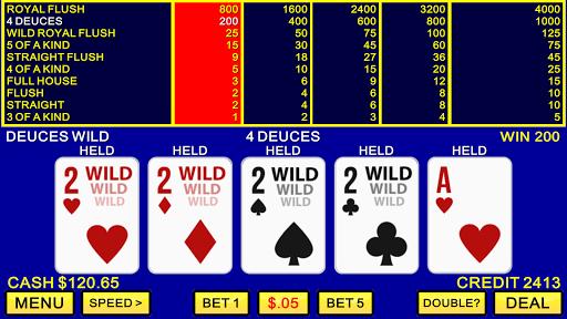 Video Poker ♠️♥️ Classic Las Vegas Casino Games apklade screenshots 2