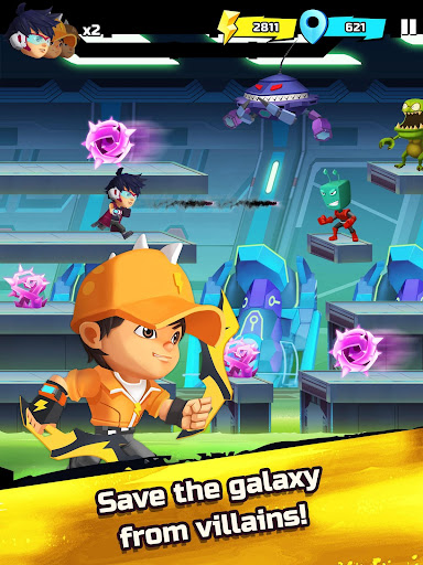 BoBoiBoy Galaxy Run: Fight Aliens to Defend Earth! 1.0.5d screenshots 17