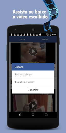 google how to download video from facebook