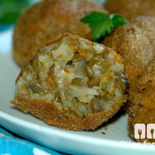 Lentil & Brown Rice Arancini