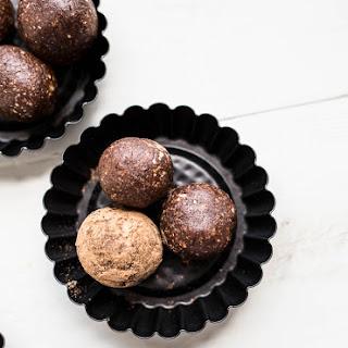 Chocolate Cherry Almond Energy Balls (Gluten-Free, Vegan).