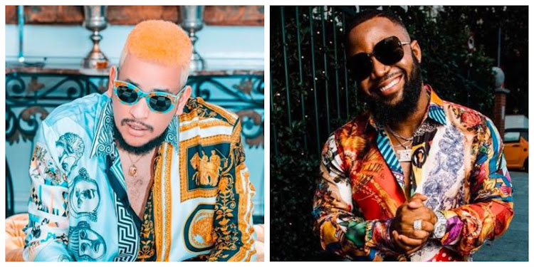 AKA and Cassper Nyovest have been taking shots at each other.