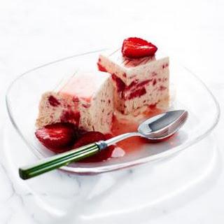 Strawberry Semifreddo.