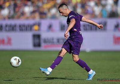 Des supporters de la Fiorentina cartonnent Franck Ribéry