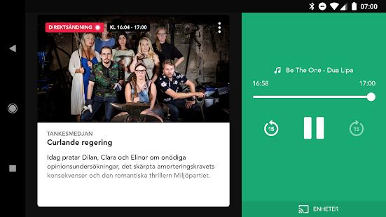 Sveriges Radio Play - náhled