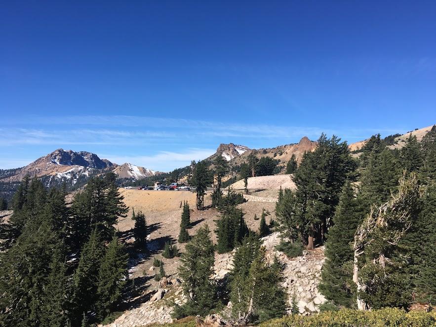 base of Bumpass trail