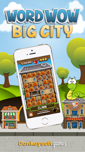 Word Wow Big City: Help a Worm- screenshot thumbnail