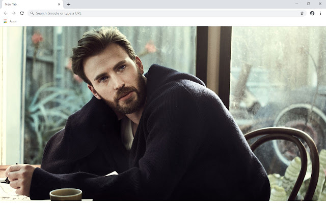 Chris Evans New Tab & Wallpapers Collection