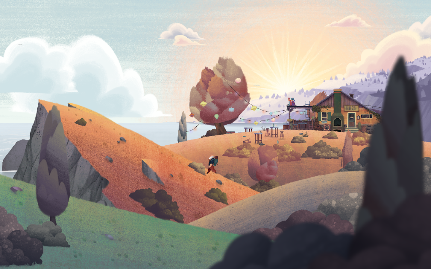 Old Man's Journey- screenshot