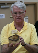 Photo: Gary Nickerson with a natural-edge sweet gum bowl  [10.08]