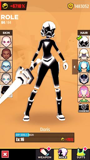 Slash & Girl - Endless Run filehippodl screenshot 6