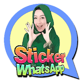 Muslimah sticker for WhatsApp