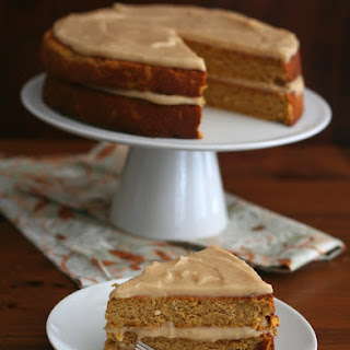 Pumpkin Spice Cake with Brown Butter Frosting (Low Carb, Gluten Free)