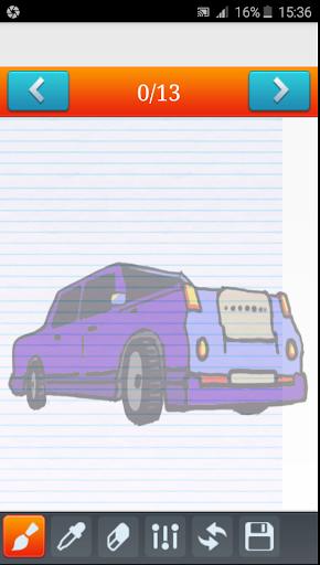玩免費遊戲APP|下載Learn to draw cars app不用錢|硬是要APP