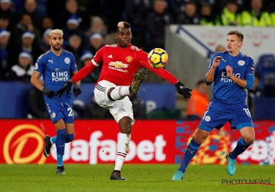 Manchester United craque dans les dernières minutes face à Leicester